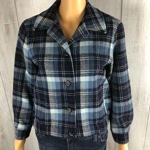 Pendleton Jacket Size 4 100% Wool